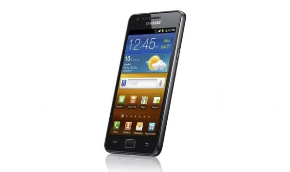 Samsung Galaxy SII Android 4 ICS