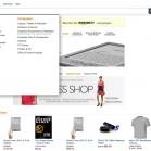 amazon neues design home ausgeklappt