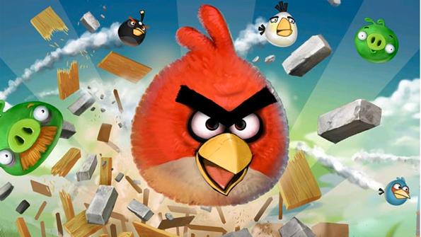 Kostenlose Apps wie die Android-Version von Angry Birds saugen den Akku leer
