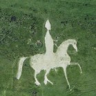 google earth pferd
