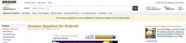 Amazon App Store 2