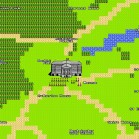 Google 8bit map buckingham palace