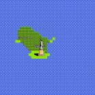 Google 8bit map statue of liberty