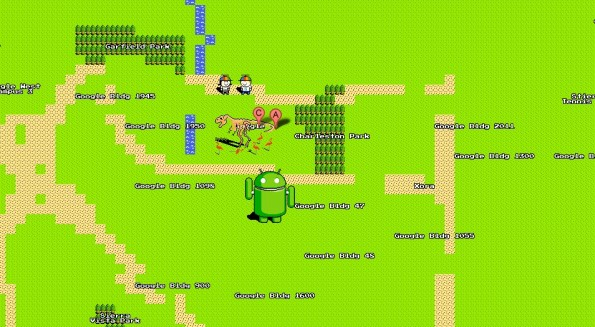 google 8-bit-maps headquarter