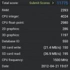 HTC one X antutu 1