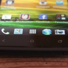 HTC one X front buttons