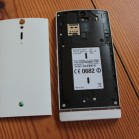 Sony Xperia S back open