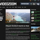 WordPress ThemeVideoZoom 2