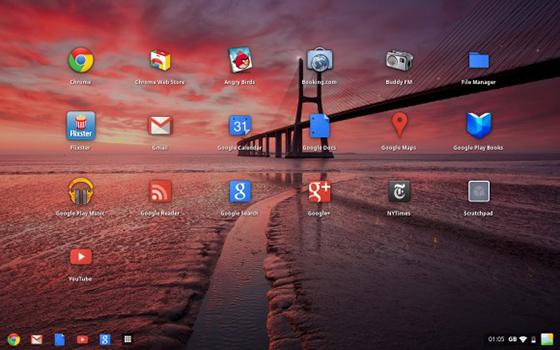Chrome OS sieht in der neuesten Version aus wie ein Windows-Desktop