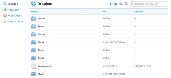 Dropbox erhöht Referralspeicher auf 500 MB