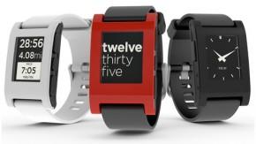 Pebble – E-Paper-Multifunktionsuhr kommuniziert mit iPhone und Android-Geräten