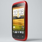 HTC Desire C red left front