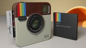 Instagram-Kamera Designstudie – nicht als App, sondern echte Hardware