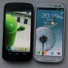 Samsung Galaxy S3 vs galaxy nexus