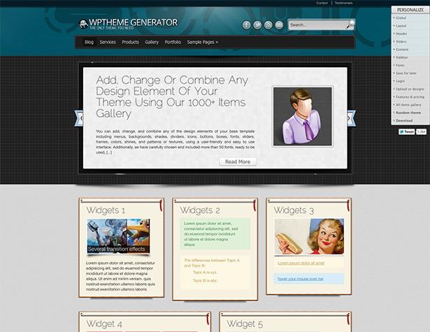 WordPress-Themes mit WPTheme-Generator leicht gemacht