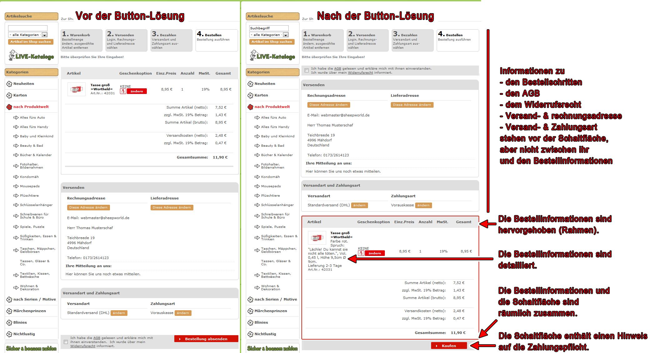 Abmahnungen vermeiden: FAQ, Beispiele und Checkliste zur Button ...