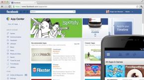 Facebook App Center: Der App-Store für iOS, Android und Browser kommt