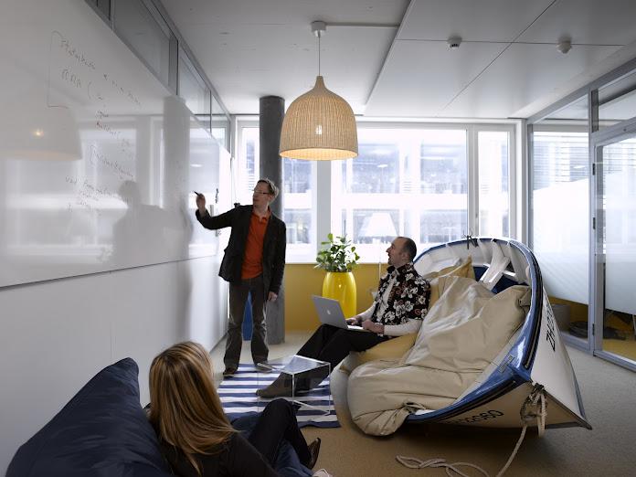Traumjob: Networking kann nie schaden und öffnet viele Türen. (Bild: Google Büros in Zürich)