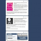 infinite scrolling tumblr