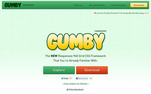 Responsive Webdesign: Gumby bringt ein UI-Toolkit mit