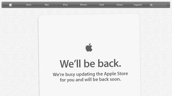 Apple Store Update