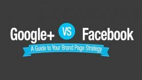 Google+ vs. Facebook: Die wichtigsten Kennzahlen im Vergleich [Infografik]