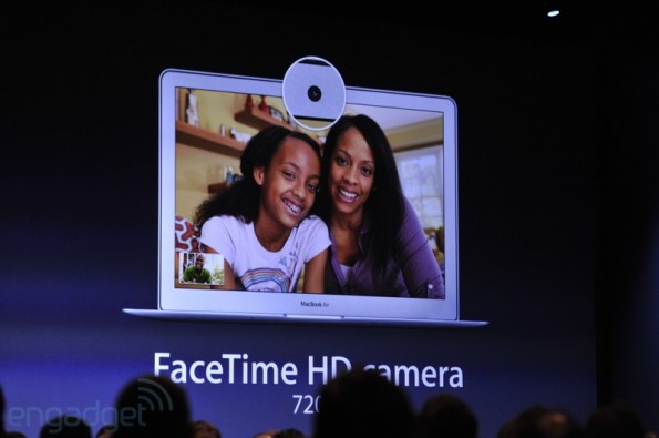 MacBook Air mit FaceTime HD-Kamera