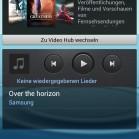 Samsung Galaxy S3 screenshot videohub musik