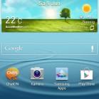 samsung galaxy s3 screenshot homescreen