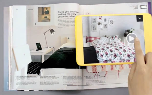 ikea katalog 2013 mit augmented reality videos. Black Bedroom Furniture Sets. Home Design Ideas