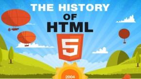 Die Geschichte von HTML5 [Infografik]