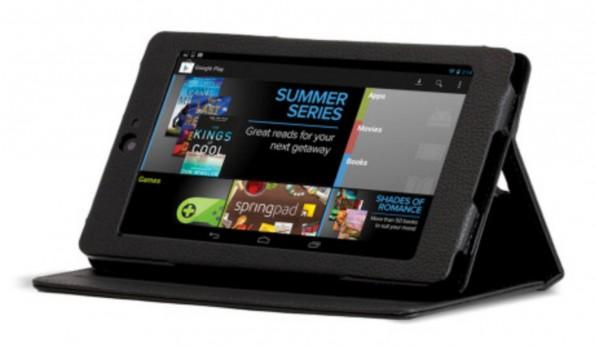 In der ersten Generation des Nexus 7 ist ein Display mit 1280 × 800 Pixeln verbaut.