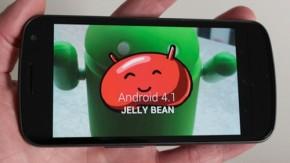 Galaxy Nexus – Update auf Android 4.1 Jelly Bean wird ab sofort verteilt