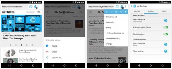 Android Browser: Ghostery verspricht vor allem besseren Datenschutz. (Screenshot: Play-Store)