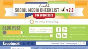 Social-Media: Checkliste für Unternehmen [Infografik]
