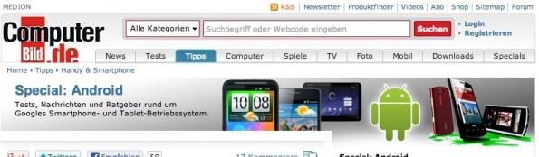 Computerbild kostenlose Android-Apps