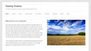 Twenty Twelve: Wordpress präsentiert neues Standard-Theme [Bildergalerie]