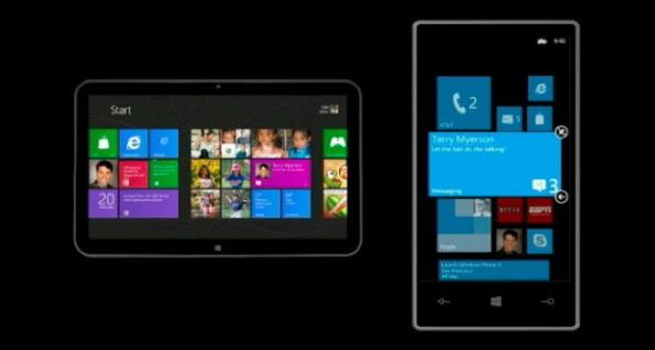 Windows Phone 8: Grundverschiedenes OS-Konzept