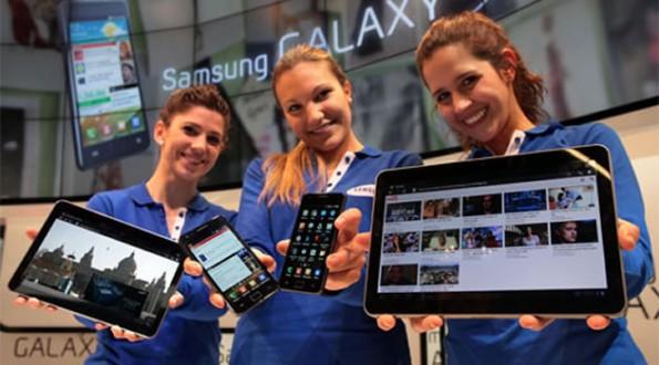 Samsung-Produkte: zu große Ähnlichkeit zu iOS-Geräten?
