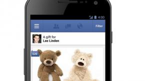 Facebook Gifts: Facebook jetzt mit eigenem Geschenke-Dienst