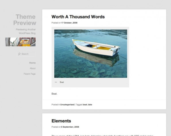 Responsive WordPress-Theme: Hum.