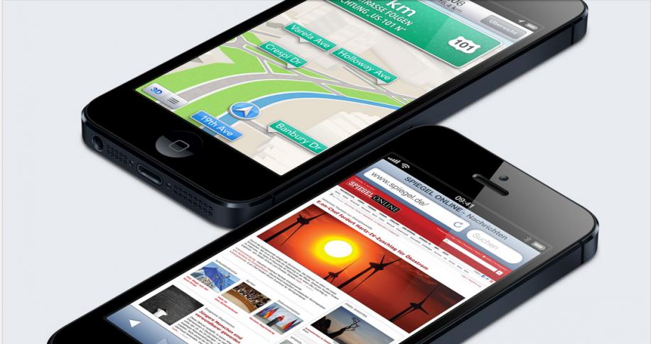 Erste iPhone 5 Tests bewerten das neue Kartenmaterial unterschiedlich.