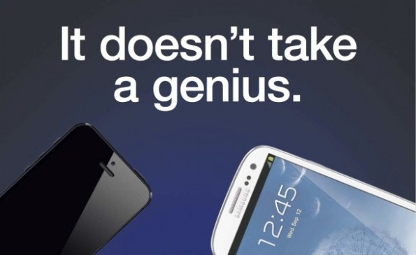 samsung anti iphone 5 werbung