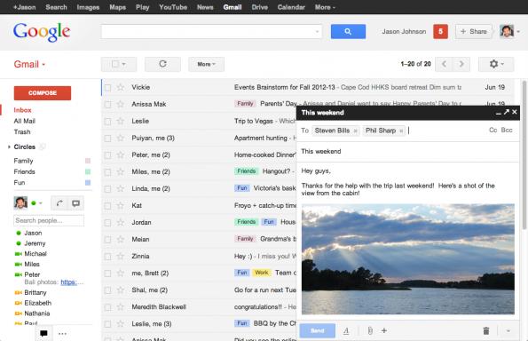 news gmail nachrichten editor endlich