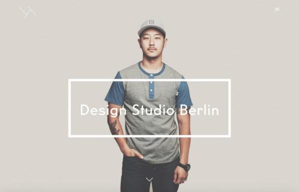 """Das Berliner Designstudio """"Broken Twill"""" setzt ebenfalls auf Parallax Scrolling."""