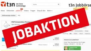 t3n Jobbörse: Gratis E-Commerce-Anzeige aufgeben