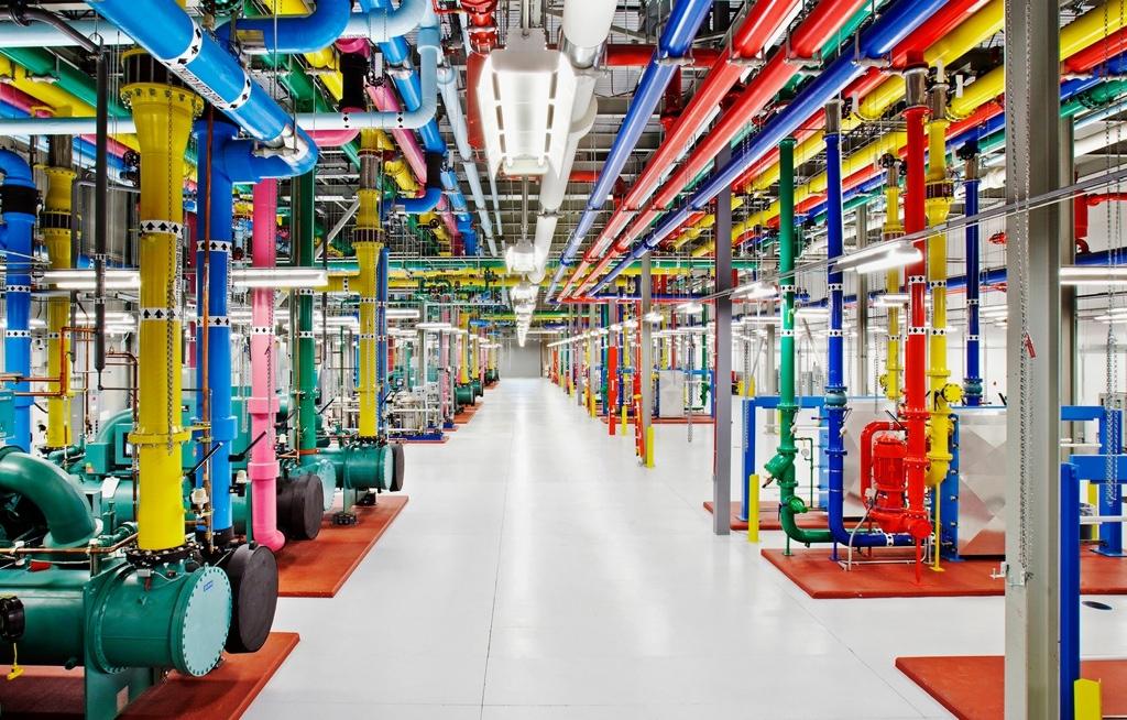 Google Hamina Rechenzentrum