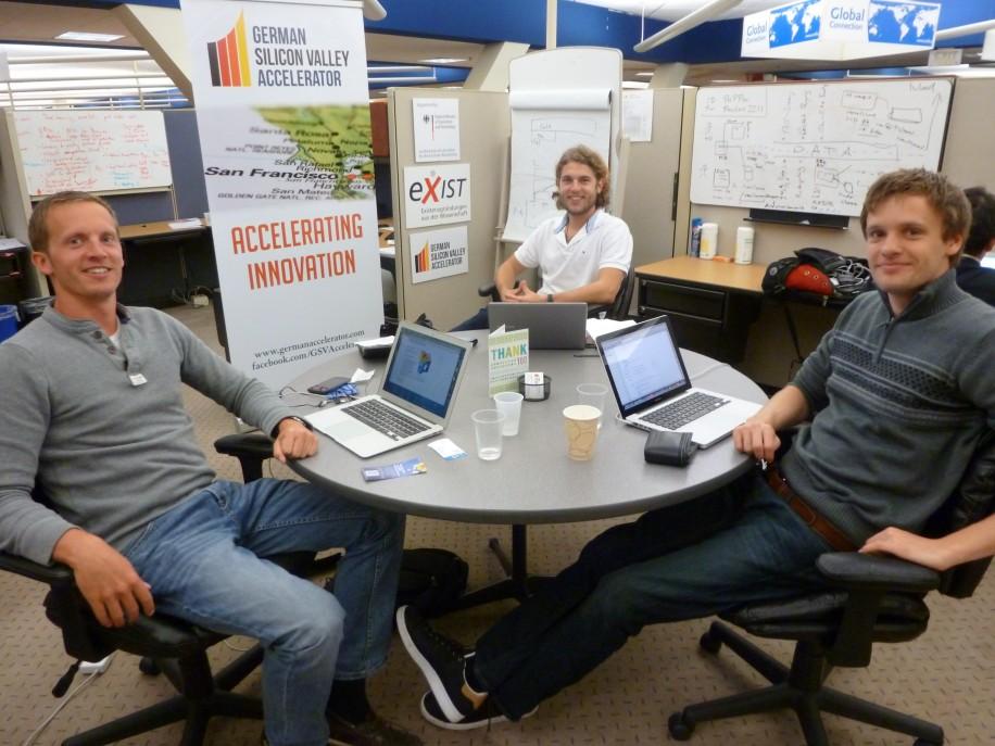 Deutsche Gründer beim German Silicon Valley Accelerator in Sunnyvale.