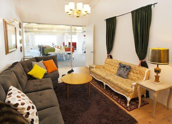 Das Office von Airbnb.