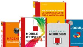 Sponsored Post: Neue Bücher zu Responsive Design, PHP, Joomla! und Magento